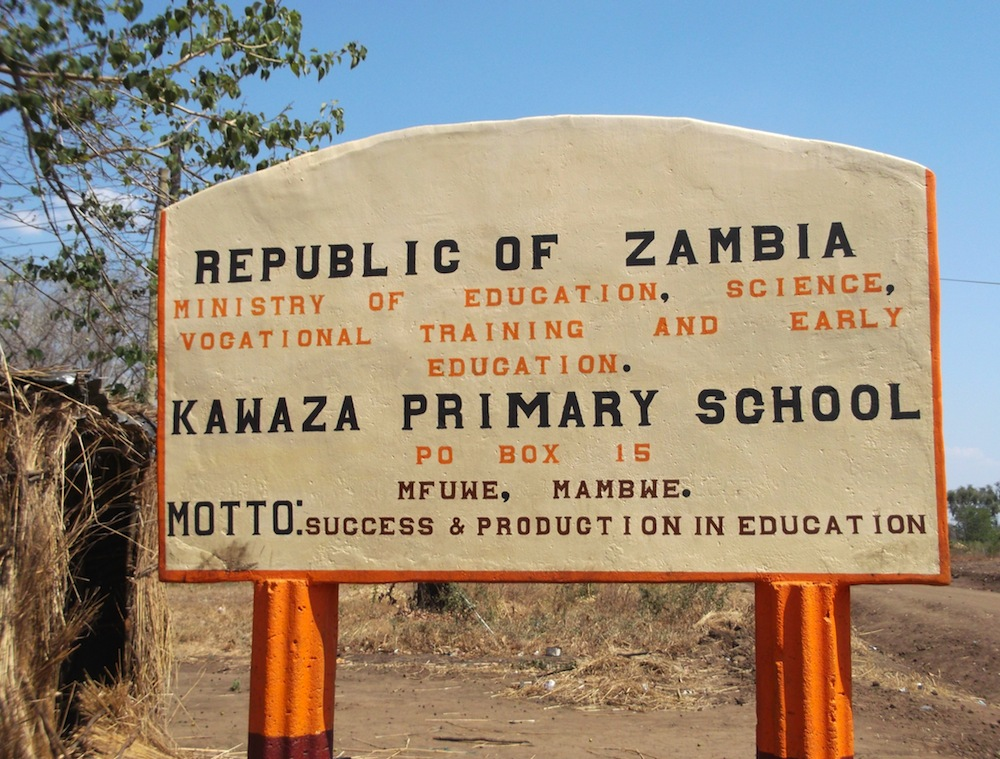 Similar Issues for Urban and Rural Schools in Zambia