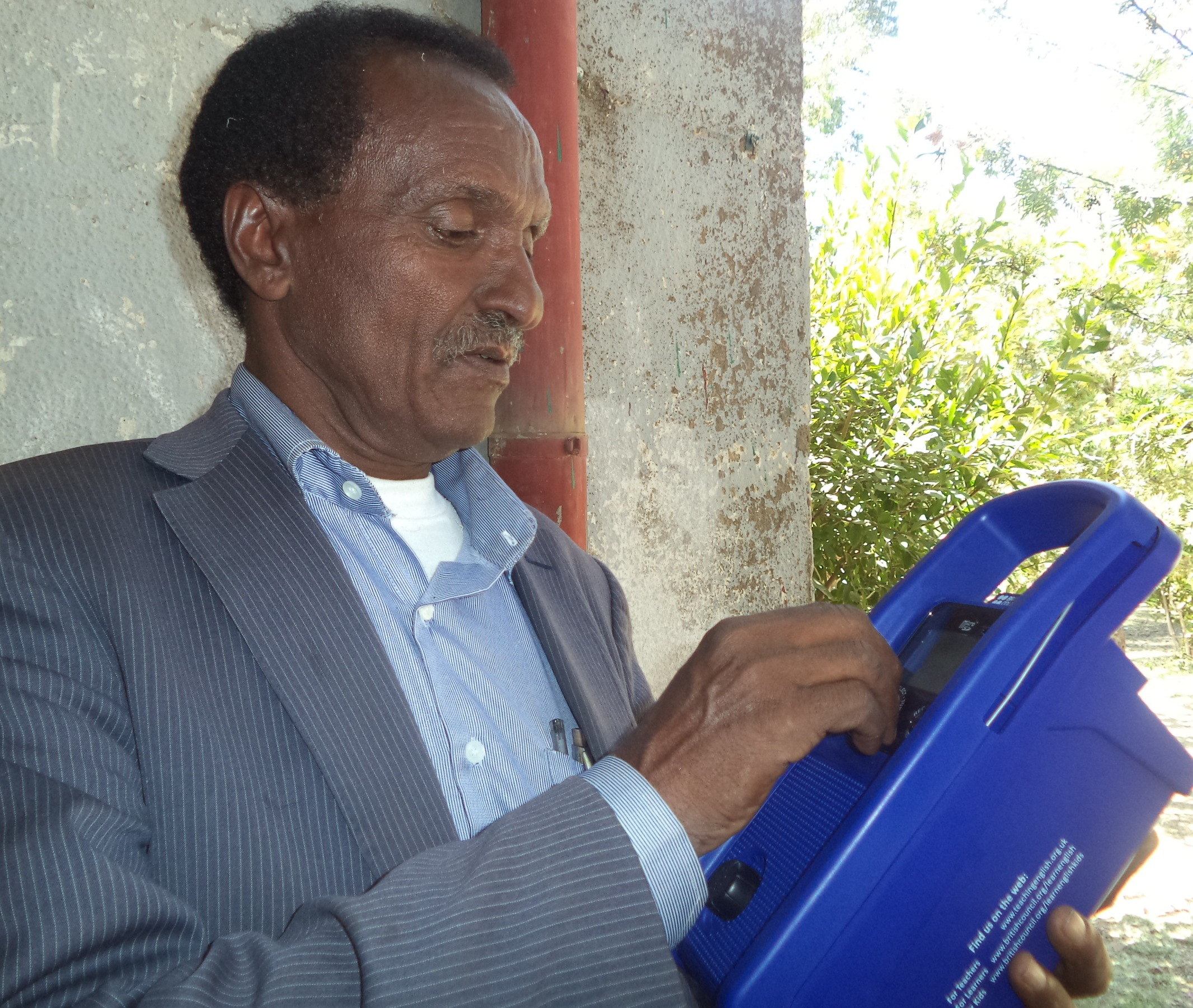 Haile's Story: What the Learn English Radio Project Means to Teachers?