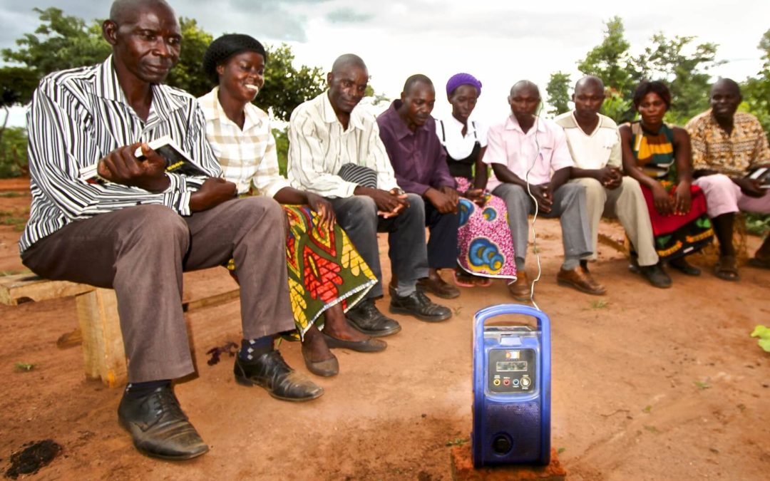 Radio for Conservation Farming and Saving Wildlife