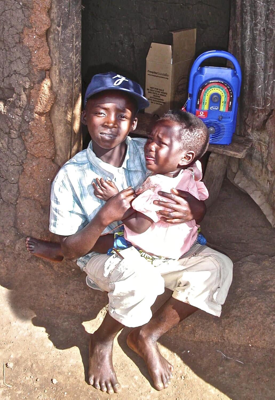 Rwandan child head of home