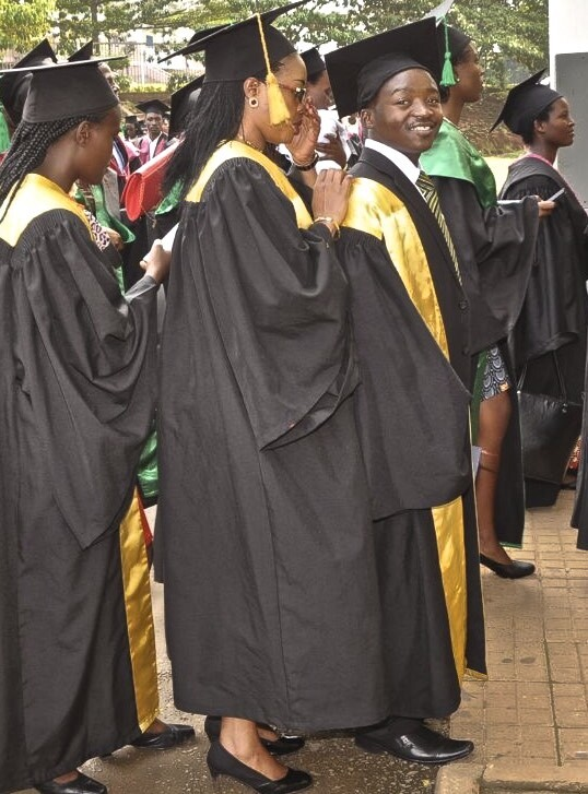 Rwandan genocide survivor graduates