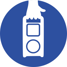 portable radio icon