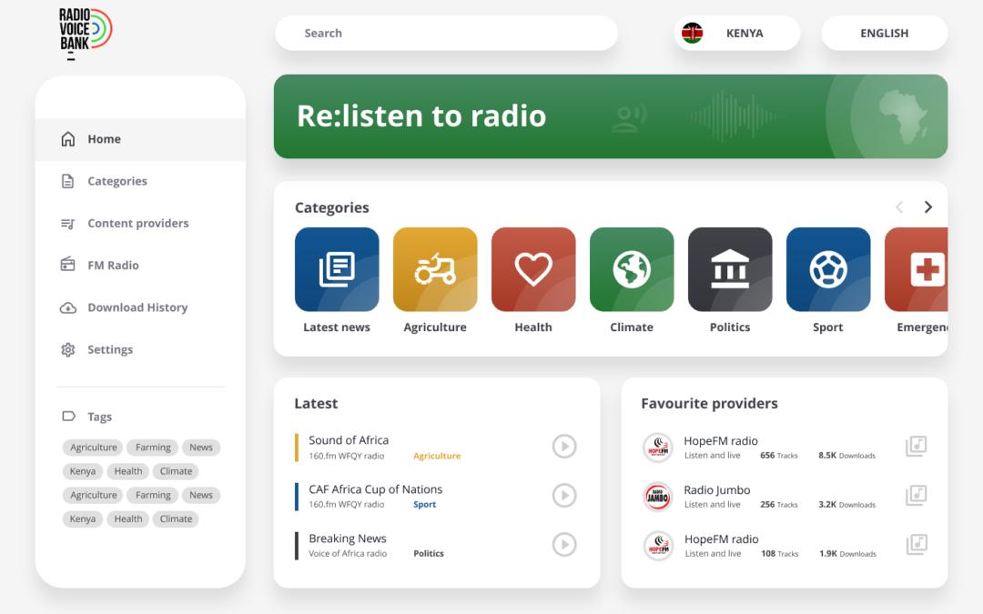 Radio Voice Bank