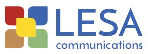 Lesa Communications Logo