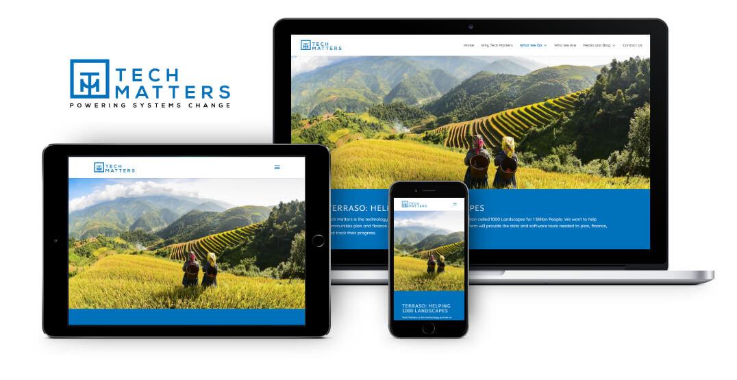 Tech Matters Website Design