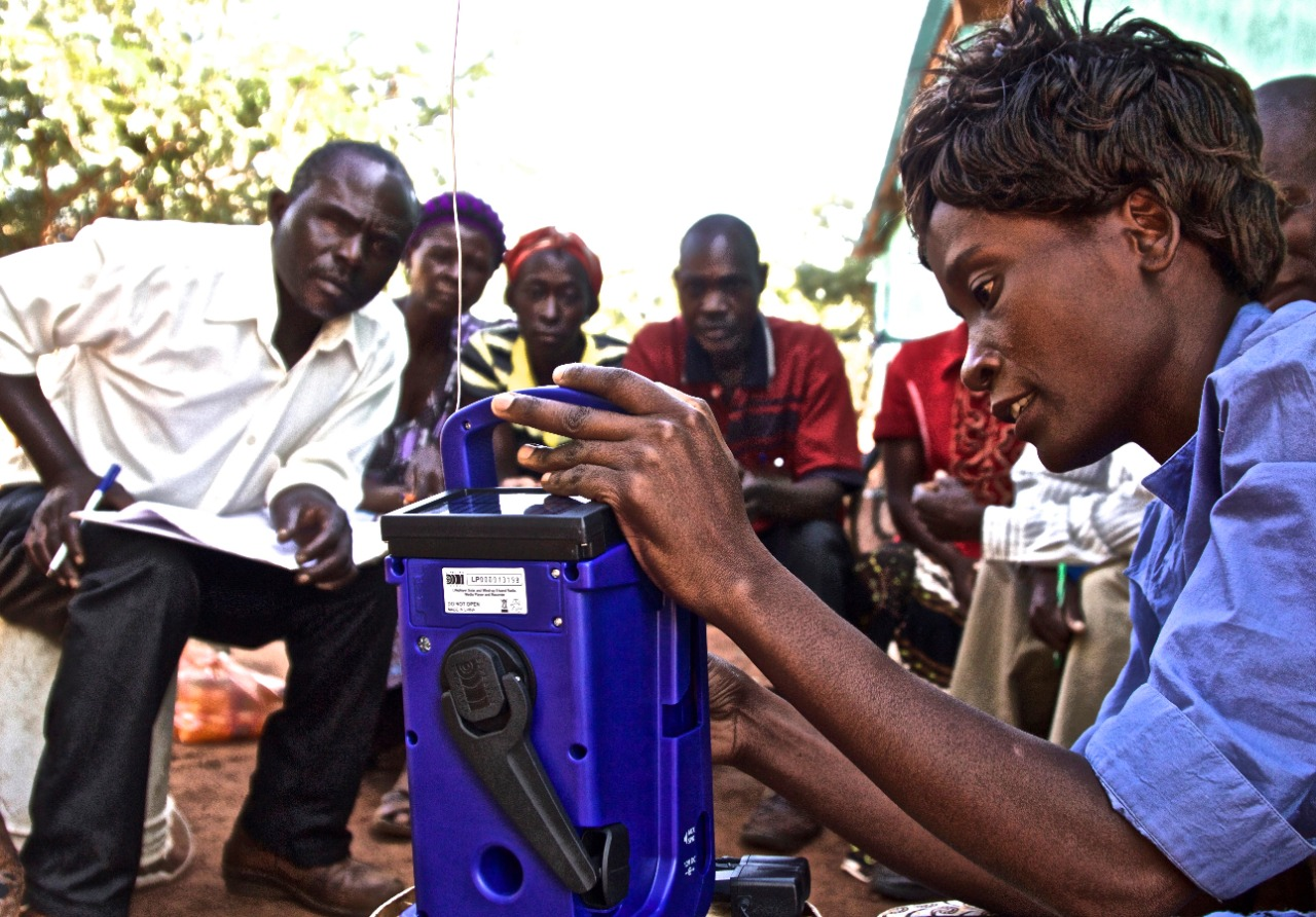 """Why """"Radio is You"""" for Women Farmers in Zambia"""